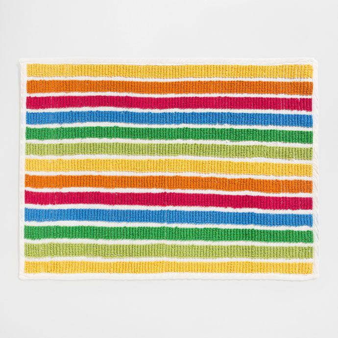 Best Multicoloured Bath Mats Ideas On Pinterest Owl Pillows - Striped bath mat for bathroom decorating ideas