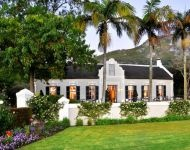 The beautiful 18th century Manor House at Grande Roche, Paarl