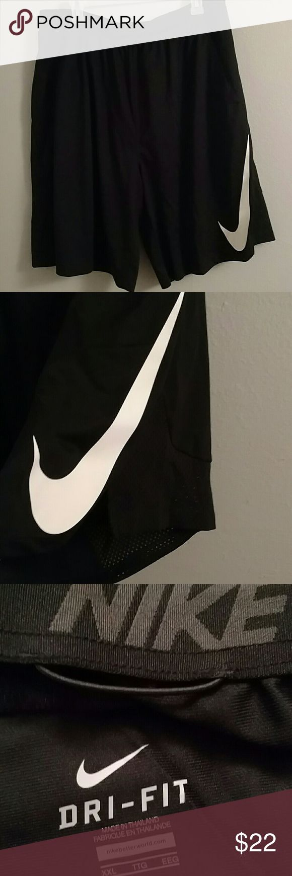 Nike men's shorts Men's basketball shorts. Brand new dri-fit but does not have tags. Has some mesh on the sides on the legs and drawstring! Nike Shorts