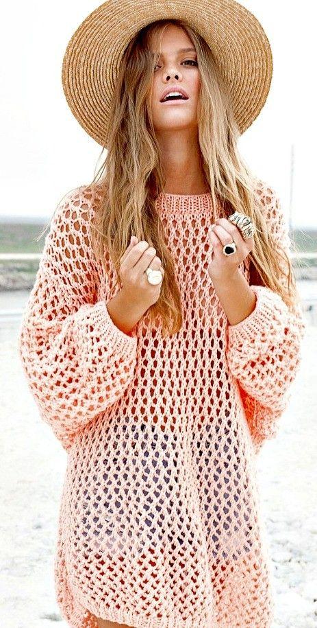 Sweater calado                                                                                                                                                                                 Más