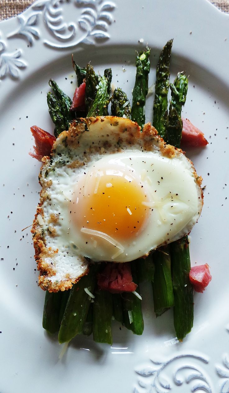 Check out Roasted Breakfast Asparagus with Breadcrumb ...