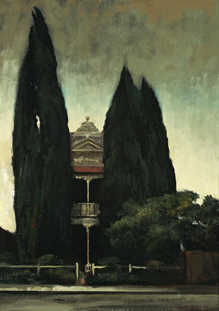 thusreluctant: Victorian House by Rick Amor