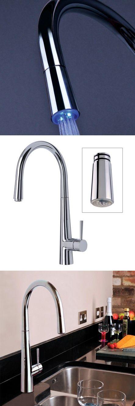 11 best LED Taps images on Pinterest   Kitchen faucets, Kitchen taps ...