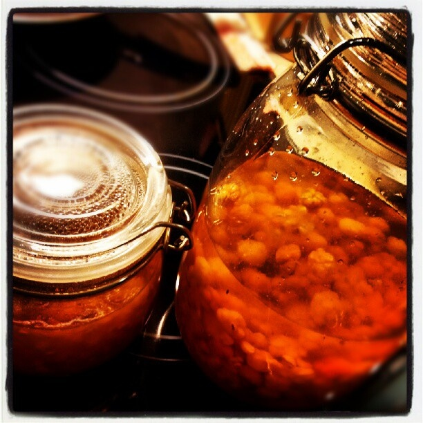 Cloudberry liqueur and cloudberry jam