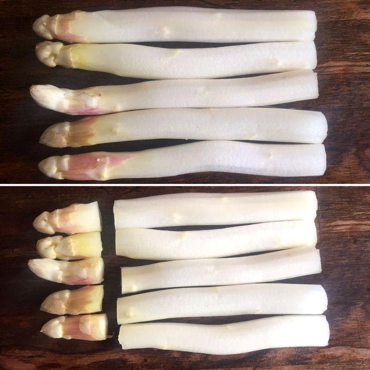 Asparges panna cotta med rejer og blomme_1