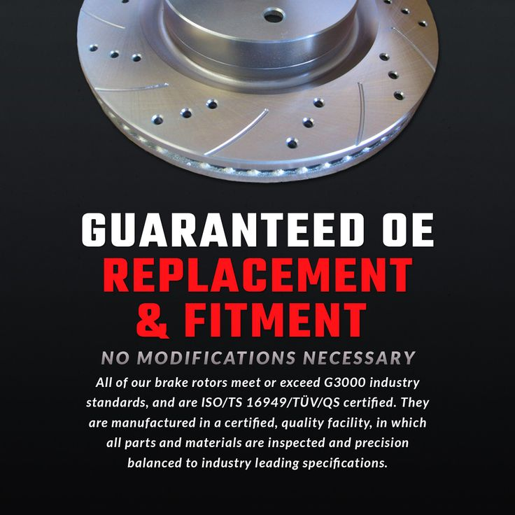 We understand buying auto parts online isn't always easy. We not only guarantee our parts will fit your vehicle but we sell only OE replacement parts so they will fit just like your original parts. Still have questions, call us anytime at 866-2-Brakes (866-227-2537). ‪#‎brakes‬ ‪#‎rotors‬ ‪#‎pads‬ ‪#‎discs‬ ‪#‎atlautosports‬ ‪#‎sylmar‬ ‪#‎losangeles‬