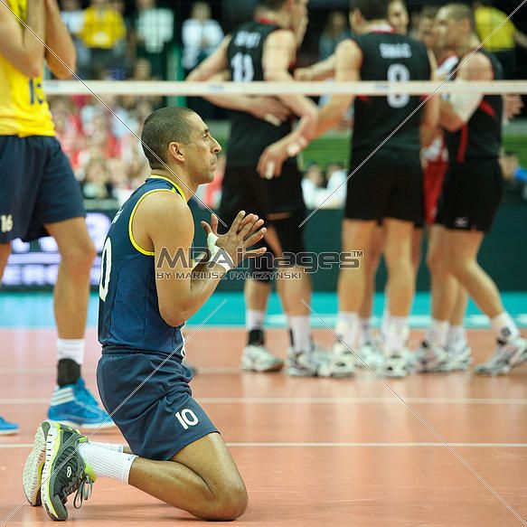 Sergio of Brazil Volleyball Team   © Mariusz Pałczyński / MPAimages.com