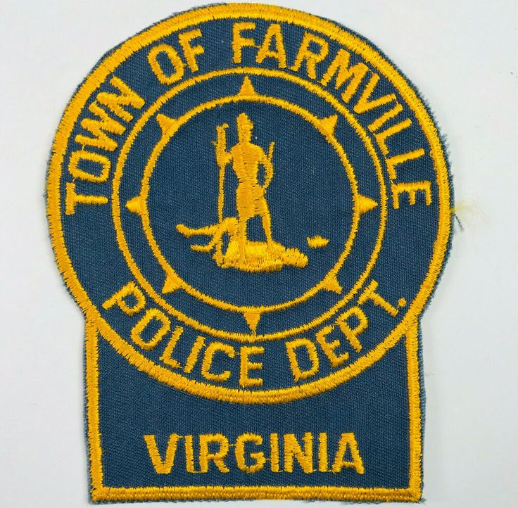 Farmville Police Virginia Patch in 2020 Police patches