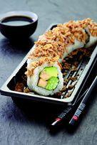 Sushi de poulet, Sushi Daily, avril 2015 Objectif : Lever les freins à la consommation pour les réticents du poisson cru. Chez Carrefour, Monoprix, Système U et Casino.