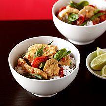 En het laatste recept wat ik je van #weightwatchers kan aanraden is de romige curry met kip. Heerlijk!