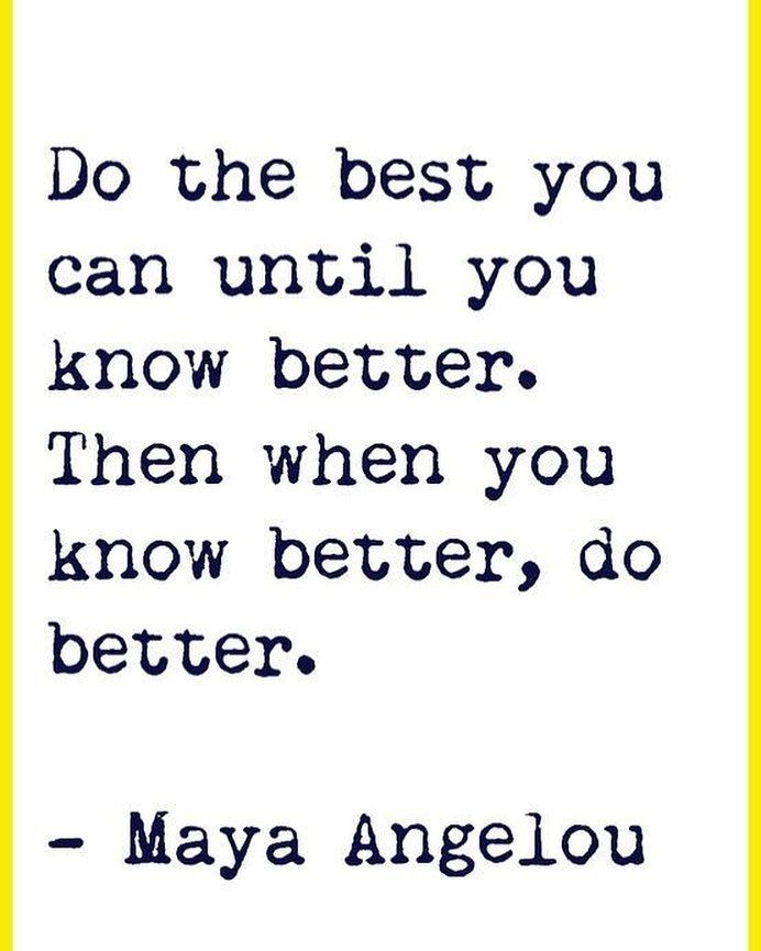 Finishing off our day with the inspirational quote by #mayaangelou
