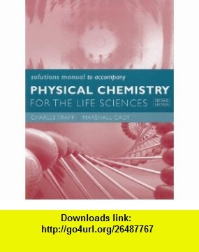 Solutions Manual for Physical Chemistry for the Life Sciences (9781429231251)…