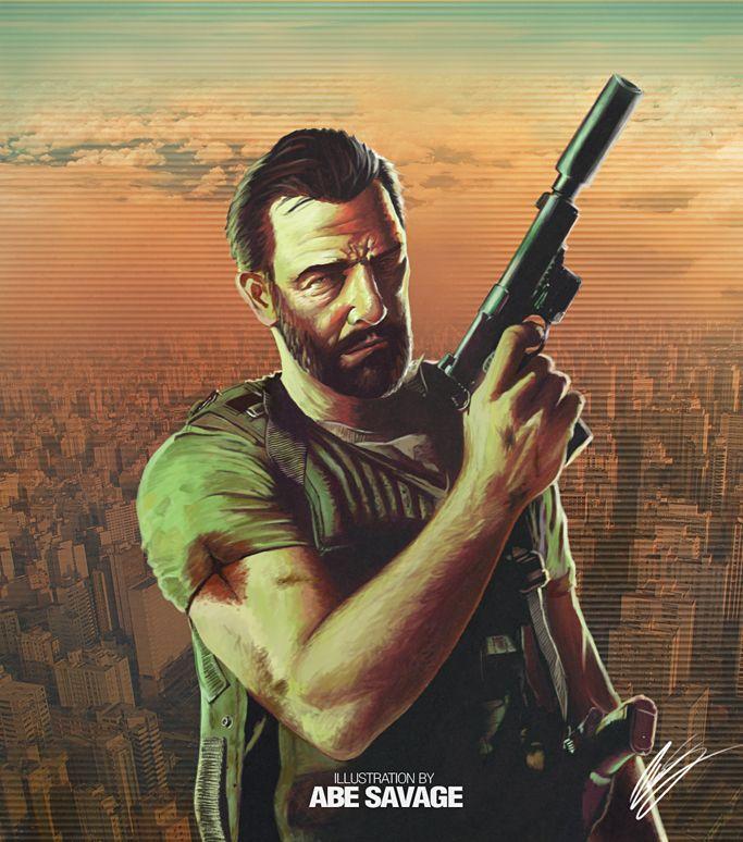 Max Payne 3 fan art by IronHard
