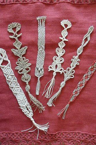 Segnalibri | realizzati con filati vari sia a macramè che a … | Flickr - Photo Sharing!