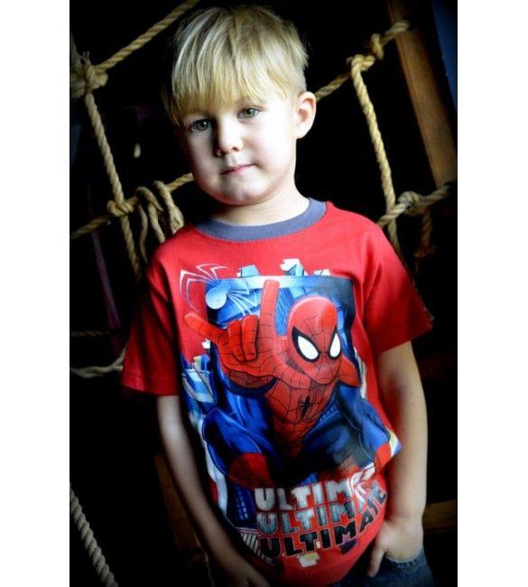 Pókember piros póló. Akciós áron 1299 Ft. Új gyerekruha webáruház.