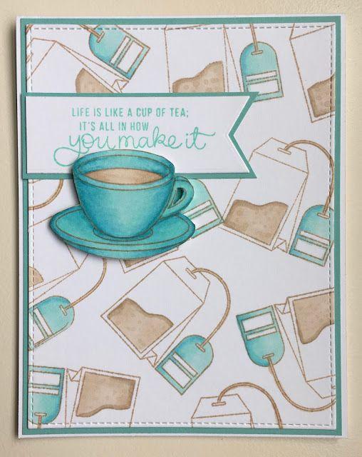 Mocha Frap Scrapper: Life Is Like A Cup of Tea