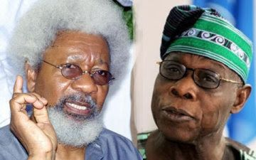 Obasanjo is a liar and an economic illiterate – Prof. Wole Soyinka - http://www.nollywoodfreaks.com/obasanjo-is-a-liar-and-an-economic-illiterate-prof-wole-soyinka/