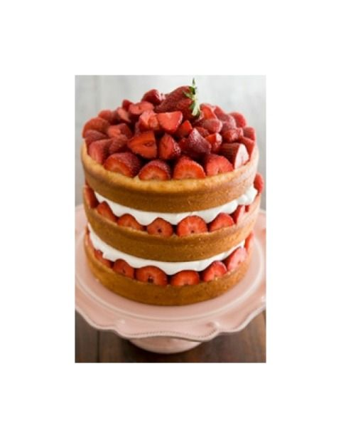 This Isnt A Strawberry Short Cake It Is Paula Deens Savannah Tall
