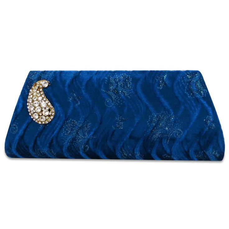 Beautiful Velvet fabric woman clutch purse /handbag. ..this is img
