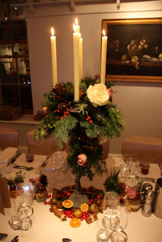 Flower Design Events: Season Christmas