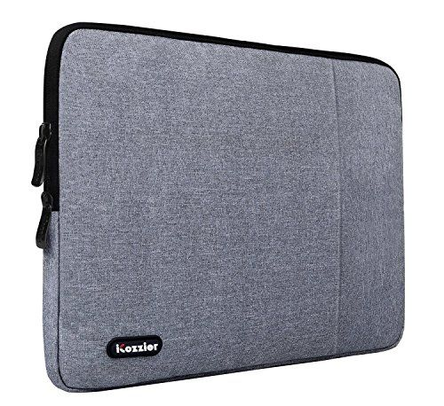 From 9.99:Icozzier 13.3 - 14 Inch Waterproof Neoprene Sleeve Carrying Bag Laptop / Notebook Computer / Chromebook / Macbook / Macbook Pro / Macbook Air / Ultrabook Computer - Grey