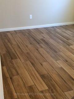 not wood floors. ;)  ceramic tile!!!!