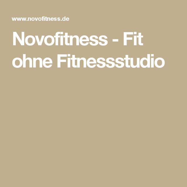 Novofitness - Fit ohne Fitnessstudio