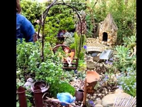 Fairy gardens ideas - YouTube