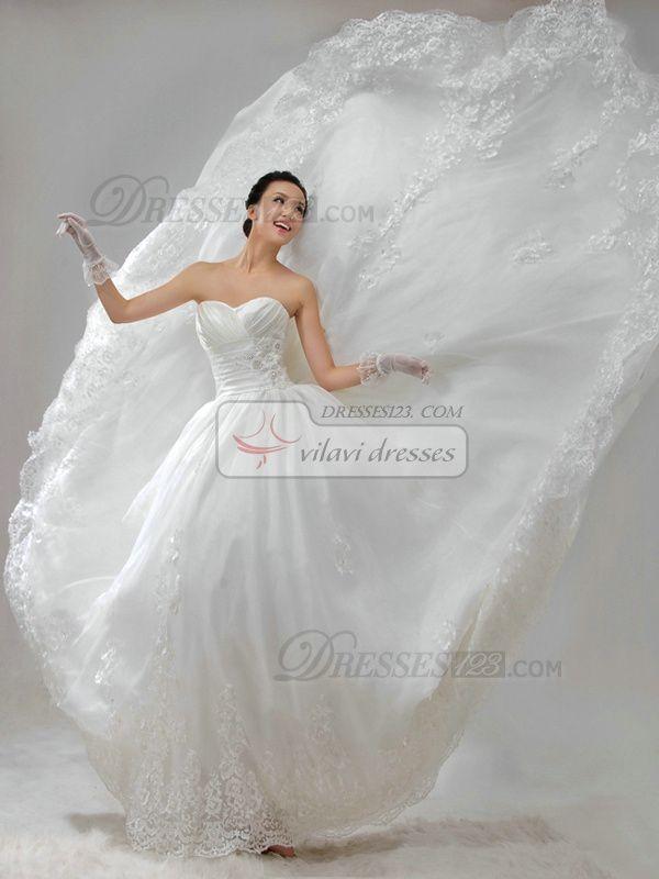 100% Maßgeschneiderte Ballkleid Taft Liebsten Lace-up-Spitze-Blumen Friesen Brautkleider, Kostenloser Versand Preis: US $ 257,79 - VILAVI Kleider http://de.dresses123.com/ball-gown-taffeta-sweetheart-strapless-lace-up-lace-flower-beading-wedding-dresses-p-78.html