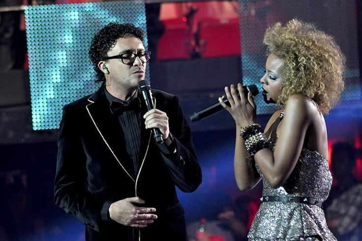 Con una canción que recordó los inicios en la música de Andrés Cepeda, Victoria y su entrenador interpretaron juntos desvanecer.