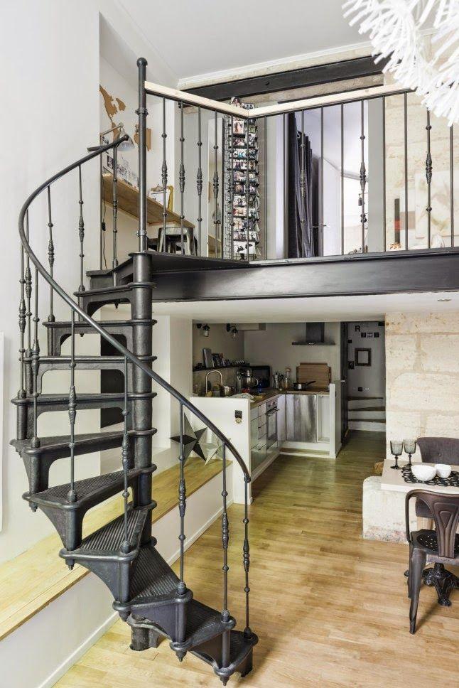 Home Shabby Home[Arredare piccoli spazi] Loft dal sapore nordico
