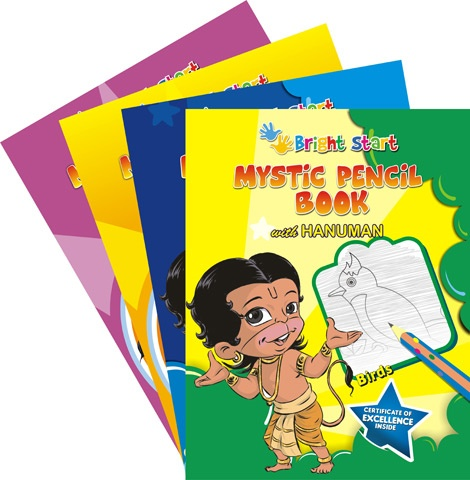 Give Bright Start to your little star through these early learning series from house of ACK. These books consist of series of activities like colouring, dot to dot crosswords, mazes and much more to keep your little one engaged.For Ages K- 6yrs.