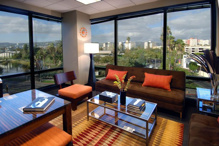 Executive office design office interior design ideas for for Beautiful office space design