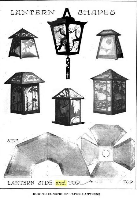 Paper lantern template eiffel pinterest