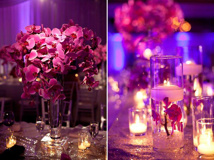 Fuschia Wedding Reception Decorations Ideas About On