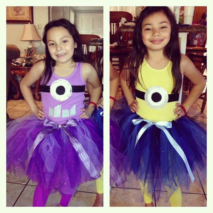 Kids Purple Minion Costume - Meningrey