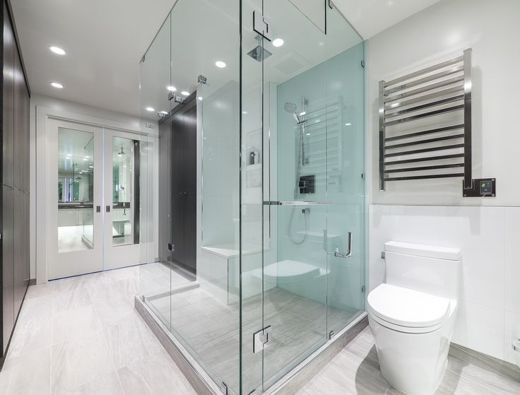 Spacious dressing room combined with the ensuite bath
