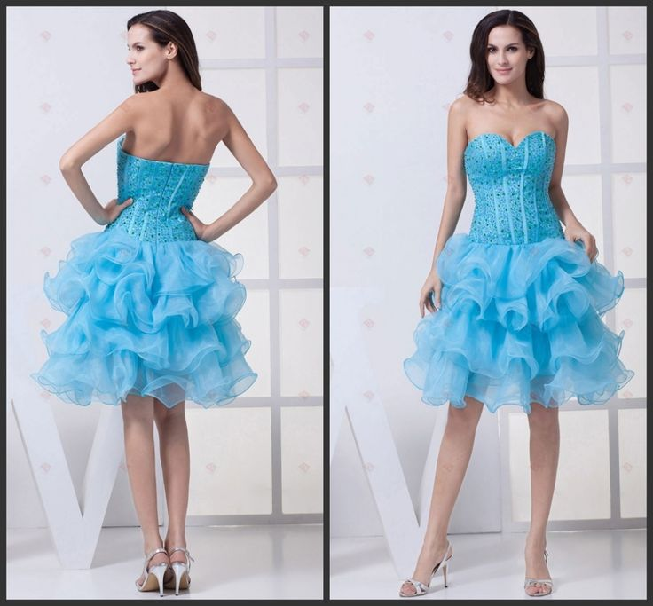 2017 New Ball Gown Skirt Sizes Available Off the Shoulder Sheer curling Sweetheart In winter Cocktail Party Cocktail Dresses