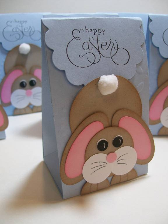 Addicted to Cardmaking: Easter Treat Bags