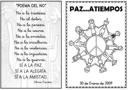 """""""Poema del """"no"""", Gloria Fuertes"""
