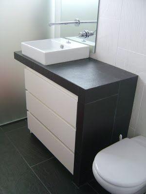 Mueble lavabo pedestal ikea trendy odensvik lavabo seno grande with mueble lavabo pedestal ikea - Mueble malm ikea ...