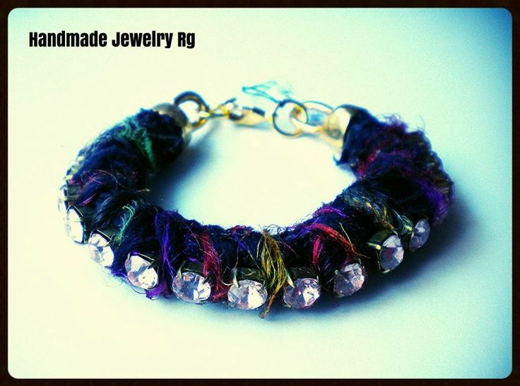 Handmade Jewelry Rg: Bracelet Colorful Fantasy