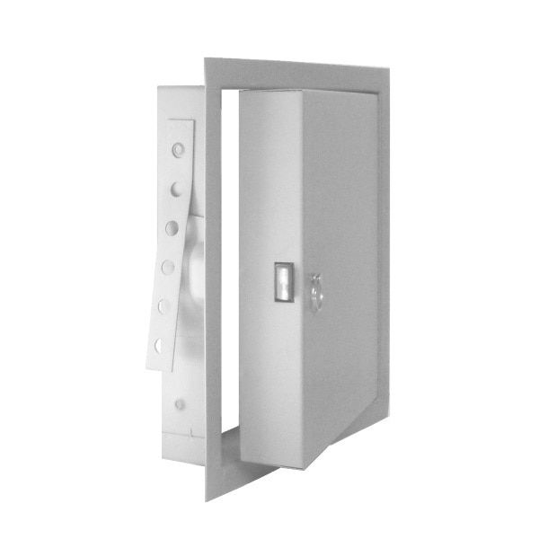 Jl Fd 24 W X 48 H Fire Rated Flush Access Panel For Walls White Access Panels Access Panel White Paneling