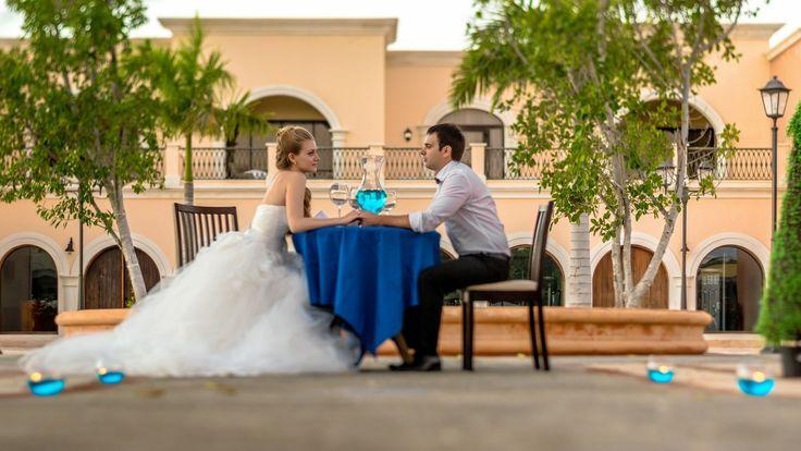 Wedding dinner at Marina Sands