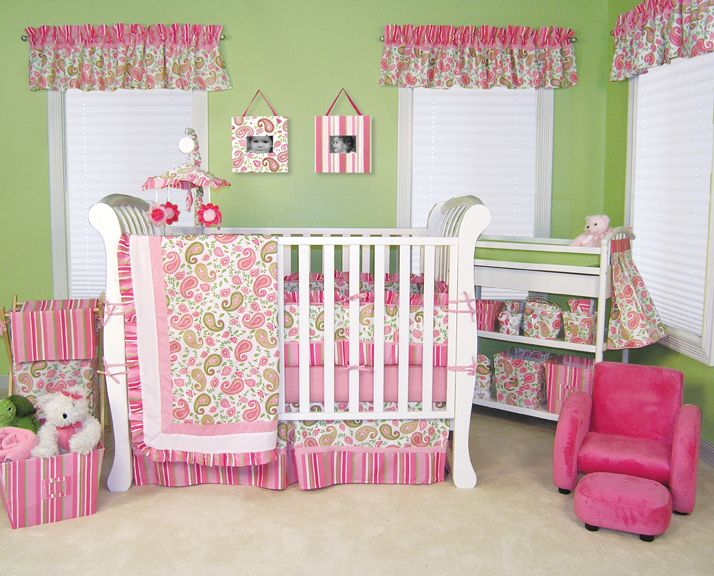 Trend Lab Paisley Park Nursery Collection Natural Baby Care Solutions www.babynaturale.com