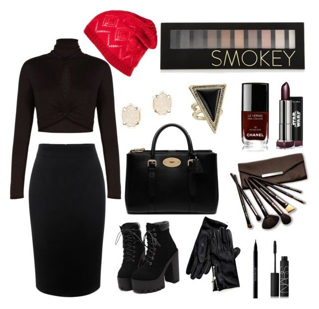 """""""New Year look 2016"""" by dianegoescu on Polyvore featuring Alexander McQueen, BCBGMAXAZRIA, Mulberry, Tommy Hilfiger, House of Harlow 1960, Kendra Scott, Chanel, Forever 21, Borghese and Urban Decay"""