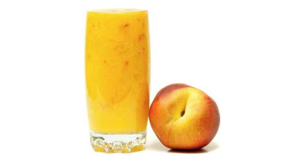 Double Vanilla Hemp Peach Smoothie