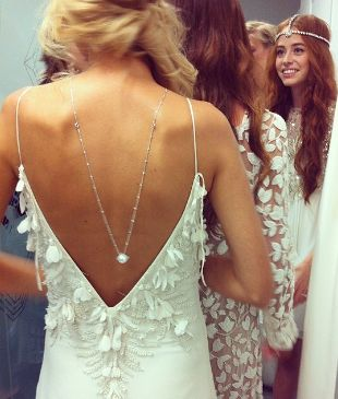 Publicity   Solid Gold Diamonds X Bo & Luca Collaboration  - 'Tulsa' wedding gown