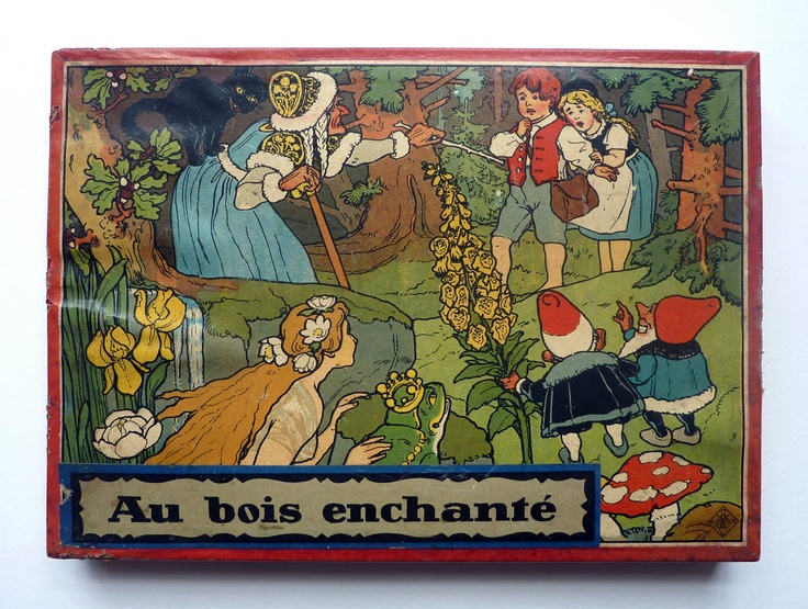 au bois enchant vintage game sprookjes fairy tales moodkids pinterest vintage games. Black Bedroom Furniture Sets. Home Design Ideas