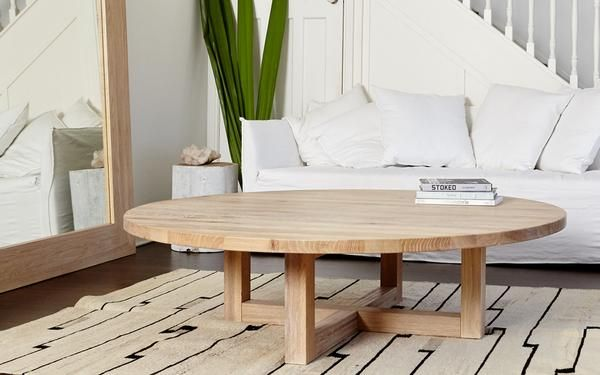 Luxa Round Coffee Table In 2020 Round Wood Coffee Table Round